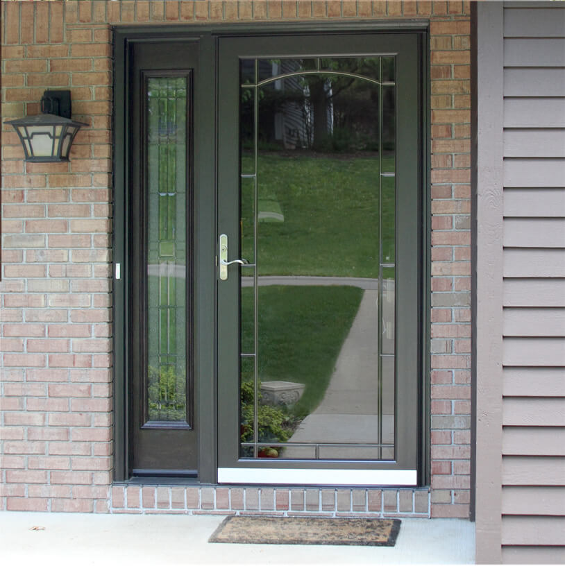 Storm doors for Double entry storm doors