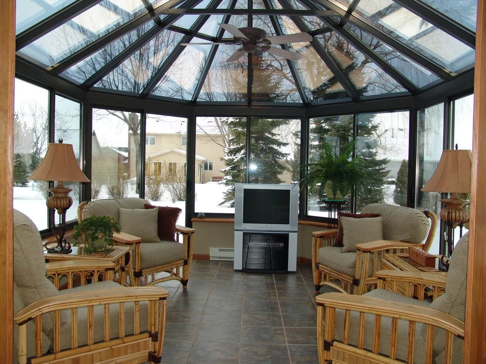 Seasonal Room & Screen Porch Enclosures - Modern Architectural Glazing