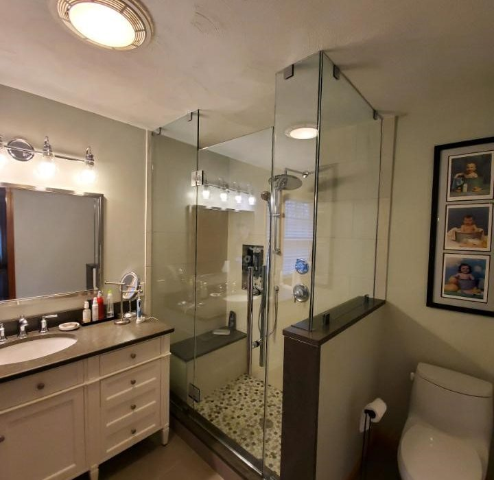Glass Shower Enclosure - Modern Glazing